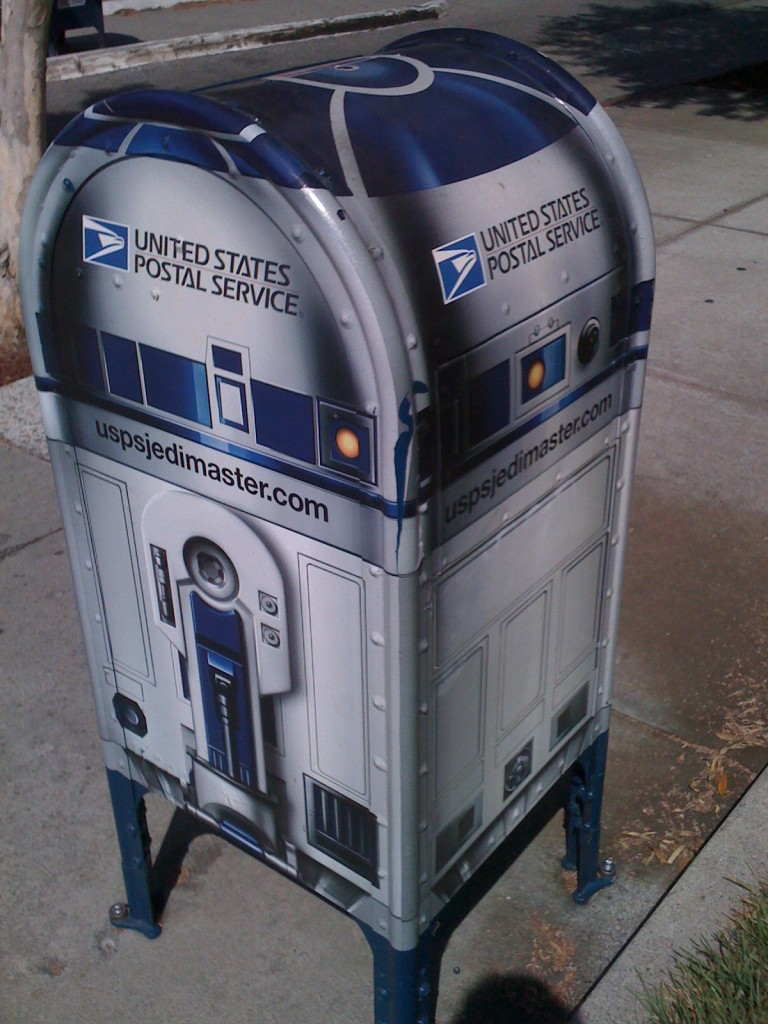 R2D2 and Larry Chiang