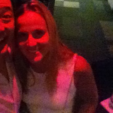 Its a selfie w Lisa Falzone (minus me, Larry Chiang). Thus, its a 'selfie no self'