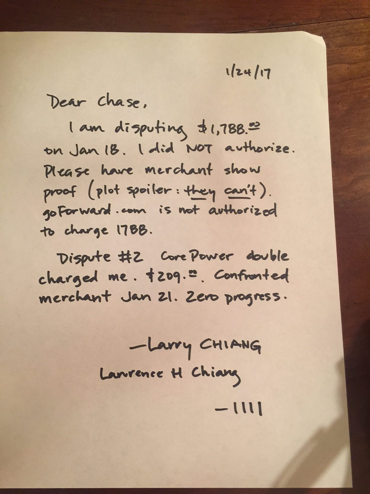 merchant-dispute-letter-chase-duck9-larry-chiang
